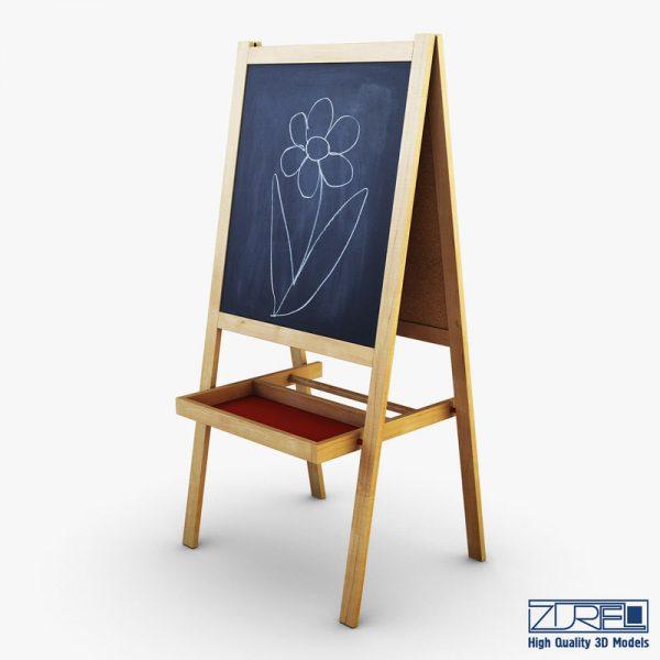 Clever 3d Ikea Mala Easel Medium