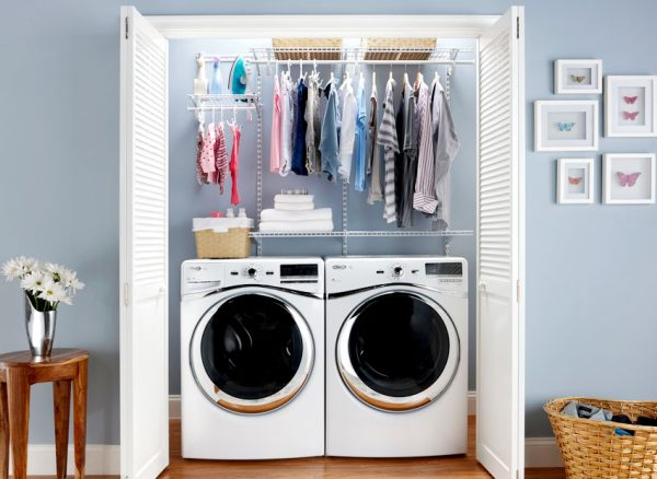 Clever 5 Diy Ideas To Create Your Own Laundry Racks For Small Medium
