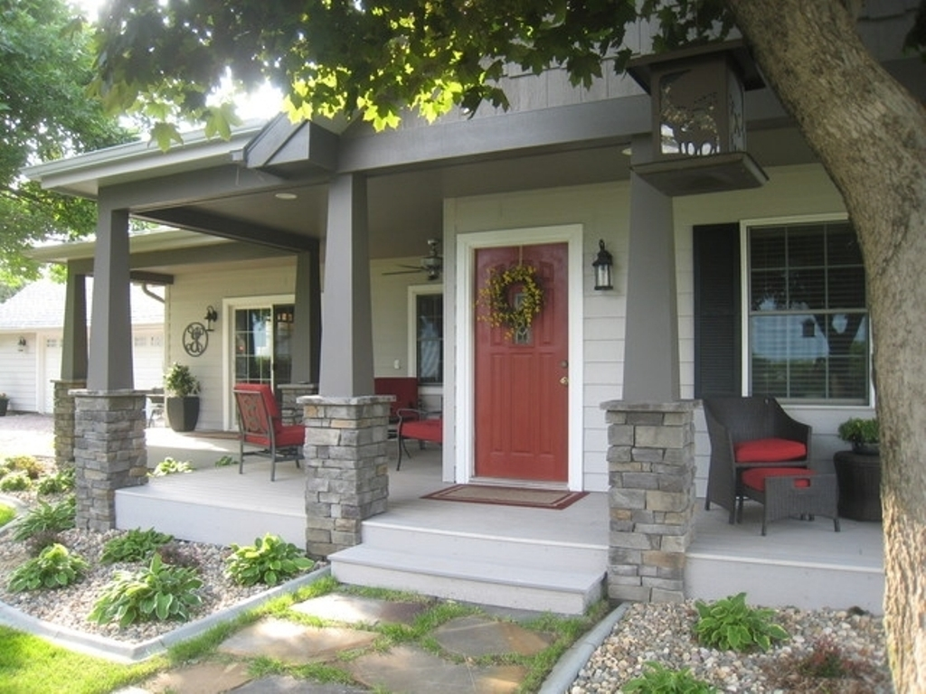 clever adding a front porch to a house