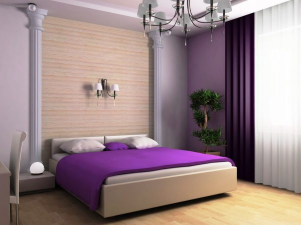 Clever Bedroom Top Notch Girl Black White Purple Bedroom Medium