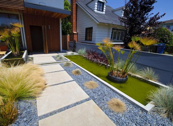 Clever Concrete Walkway Design Landscaping Network Medium