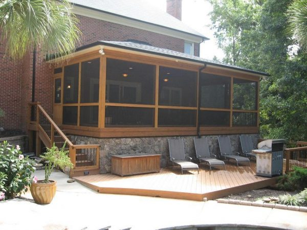 Clever Cool Covered Patio Ideas For Your Home Homestylediarycom Medium