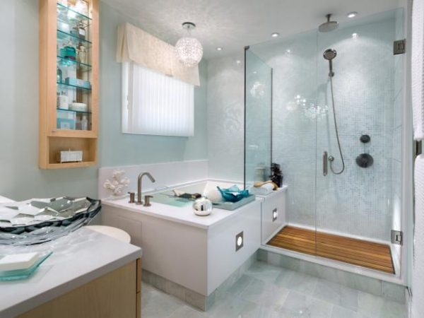 Clever Corner Bathtub Design Ideas Pictures   Tips From Hgtvhgtv Medium