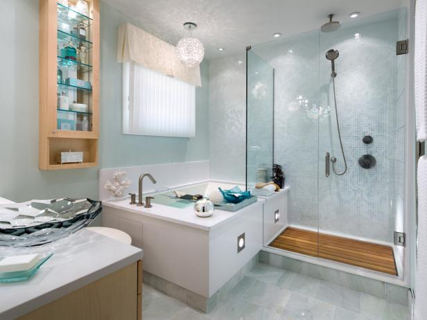 clever corner bathtub design ideas pictures   tips from hgtvhgtv