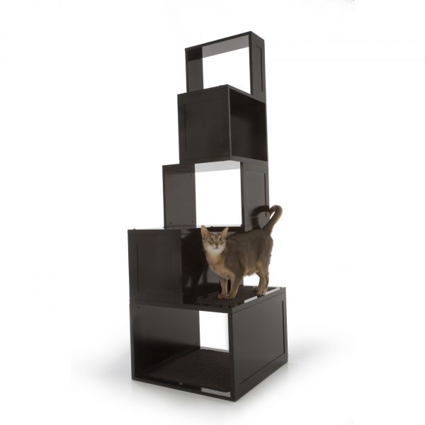 Clever Designer Pet Products The Sebastian 65 Modern Cat Tree Medium
