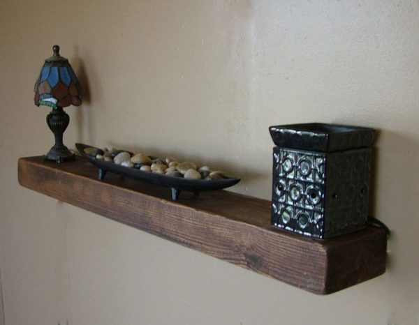 Clever Details About 3 Thick Reclaimed Wood Floating Shelf 40 Medium