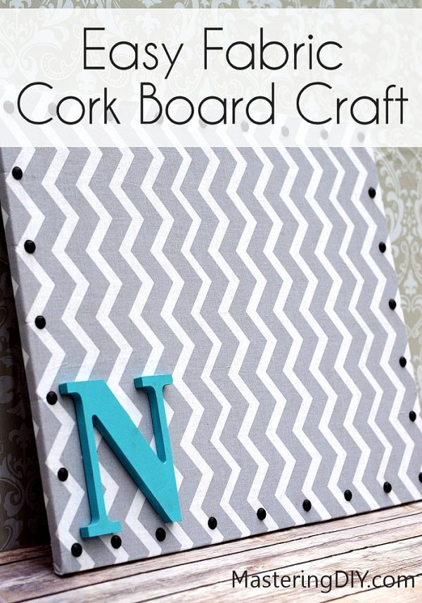 Clever Fabric Cork Board37 Of The Best Diy Gifts For College Medium