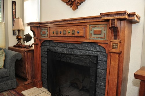 Clever Fireplaces Through The Ages Arts   Craftstms Architects Medium
