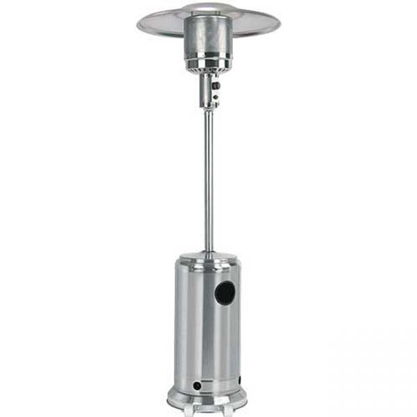 Clever Garden Sun Stainless Steel Patio Wheeled Heater 11748655 Medium