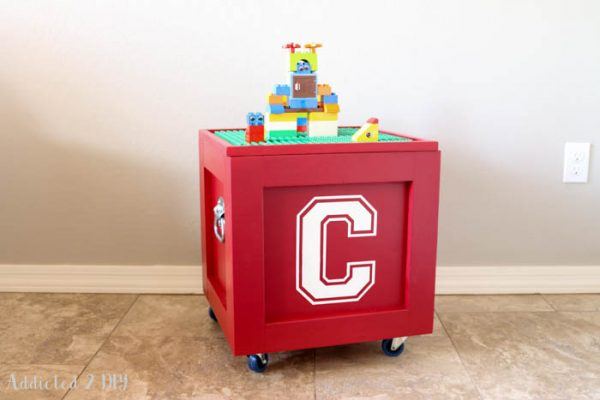 Clever How To Build A Lego Storage Cube Free Planshomeright Medium