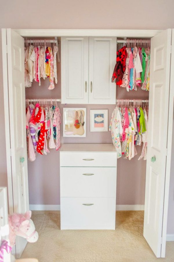 Clever Organizing The Babys Closet Easy Ideas   Tips