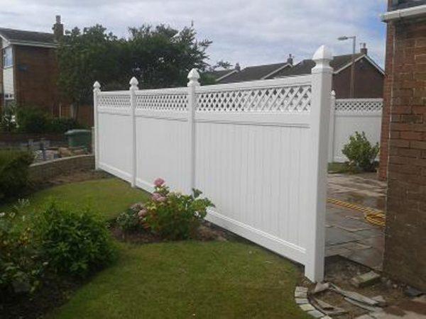 Clever Plastic Garden Fence Ukfasci Garden Medium