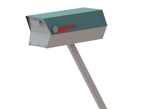 Clever Rendering Of Midcentury Modern Mailboxmidcentury Medium