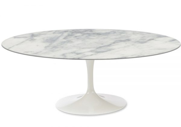 Clever Saarinen Oval Coffee Table Marble Knoll Milia Shop Medium
