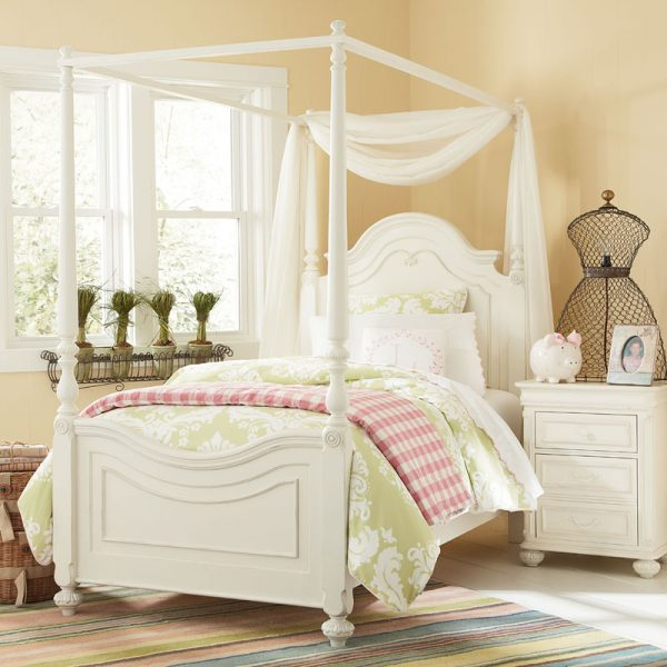 Clever Sophie High Poster Canopy Bed Rosenberryroomscom Medium