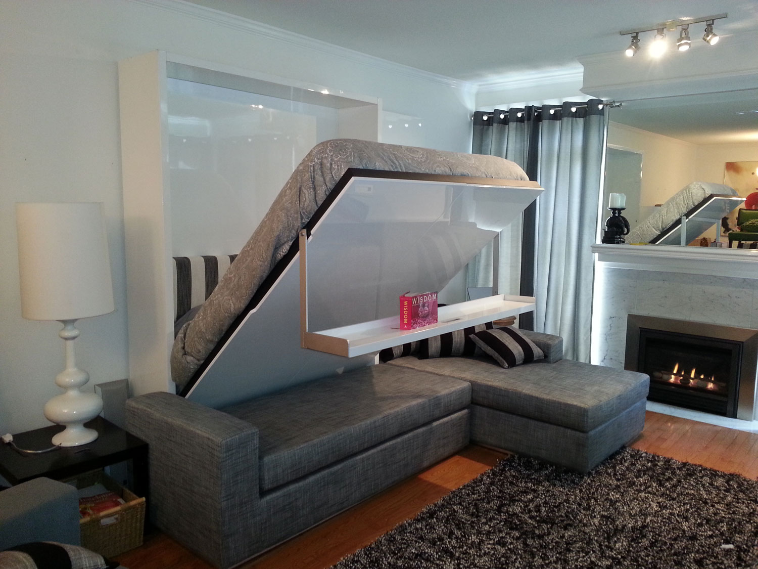 clever space saving bedroom ideas with beds that fold into wall