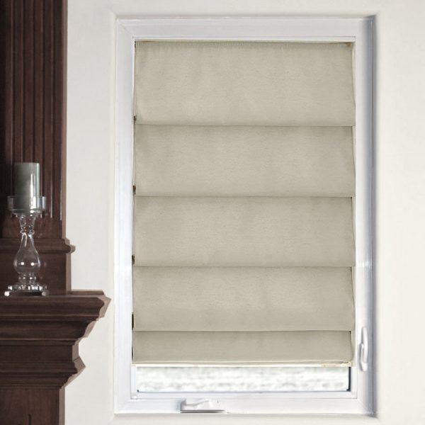 Clever Stylish Window Treatment Designs Using Insulated Roman Medium