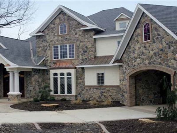 Clever Synthetic Stone Siding Veneer Rock Siding For Houses Medium