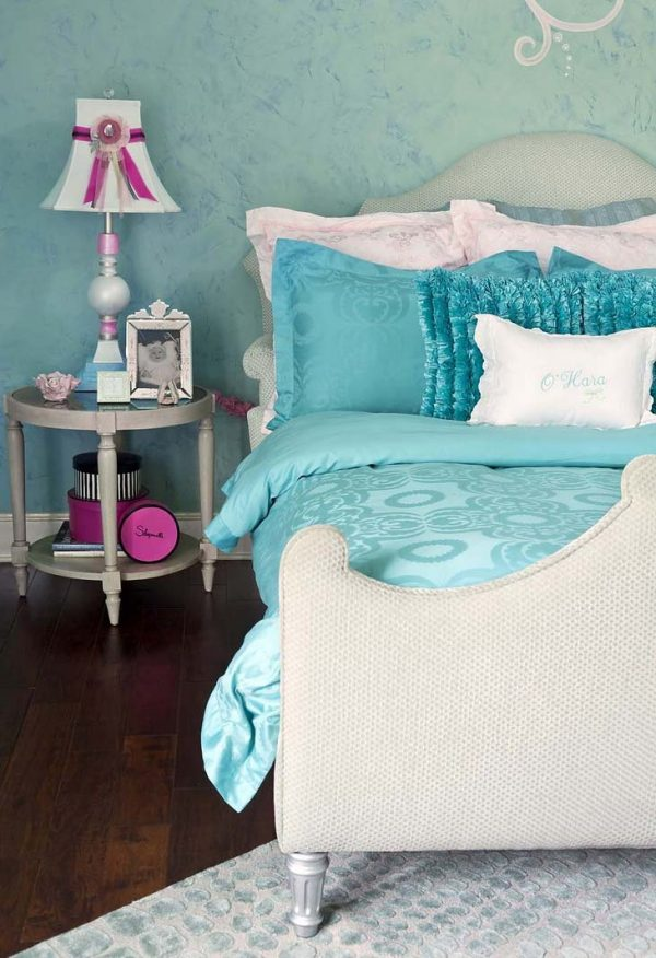 Clever Turquoise Childrens Room For Girlsideas For Home