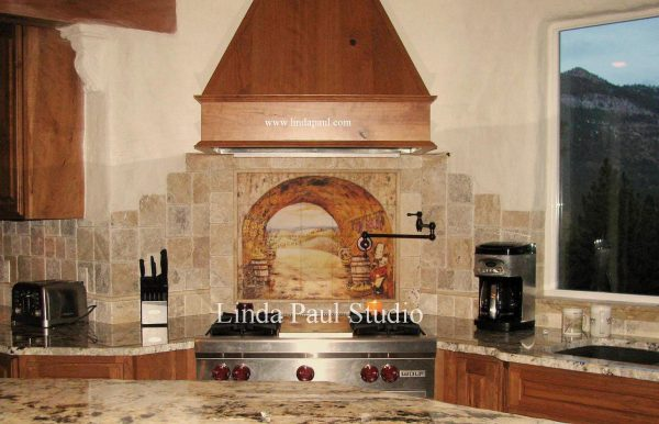 Clever Tuscan Backsplash Tile Wall Murals Tiles Backsplashes Medium