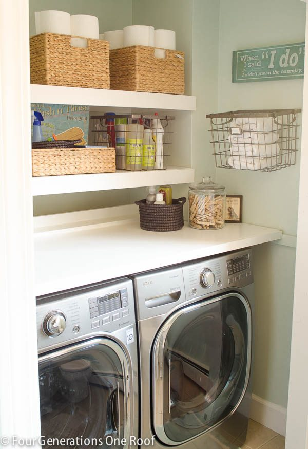Collection 13 Life Hacks To Calm The Craze In Your Laundry Room Medium