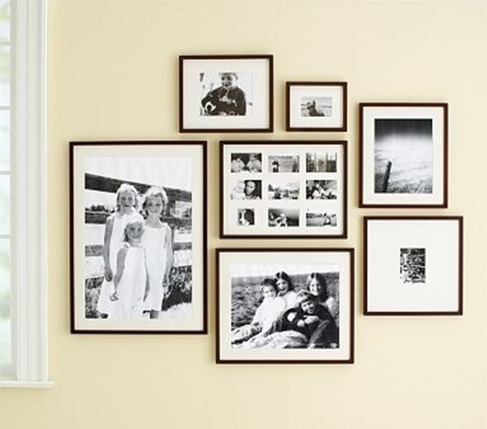 Collection 25 Unique Ideas For Designing A Photo Wall Medium