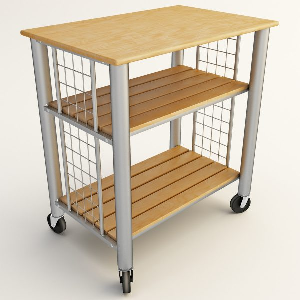 Collection 3d Rolling Cart Kitchen Medium