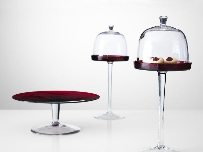 collection aktad mouthblown glass cake stands elegant serving