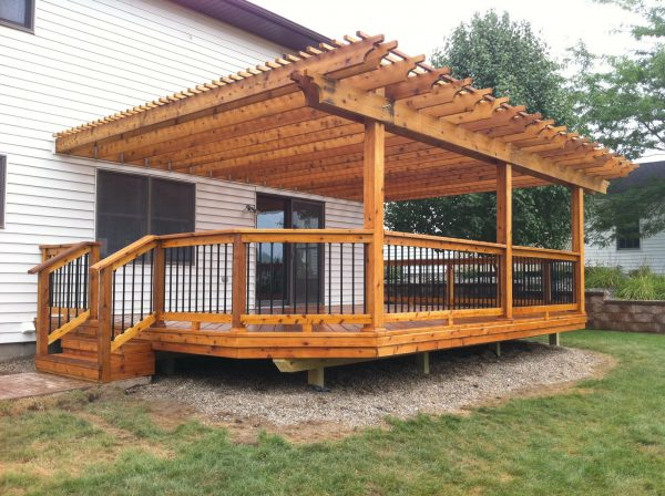Collection Cedar Wood Decks In Michiganautumnwoodconstructions Blog Medium