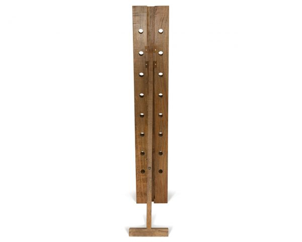 Collection Contemporary Home Accessories Unique Mango Wood Wine Rack