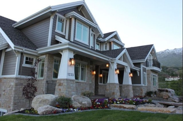 collection craftsman style home exterior colors house design plans