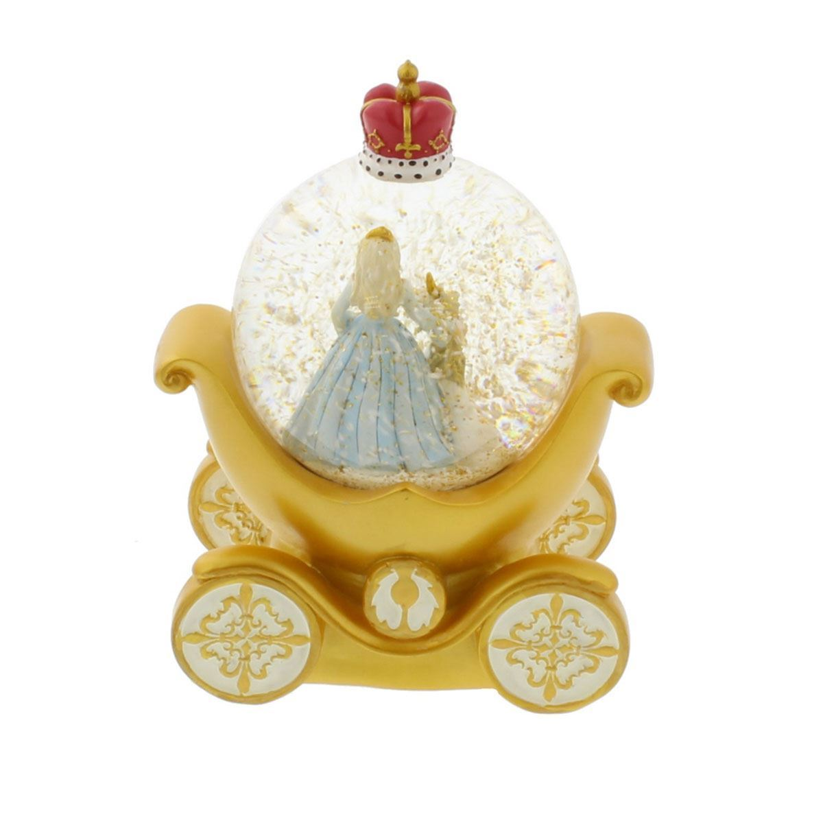 collection decorative princess carriage and unicorn snow globehes