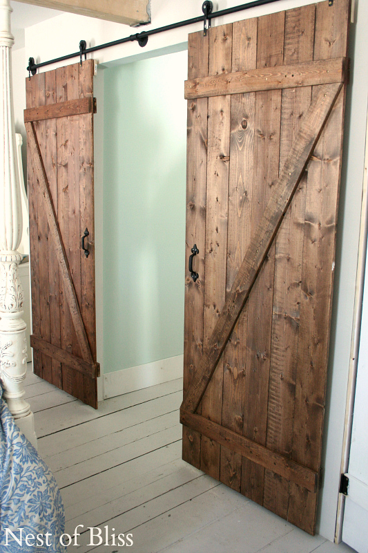 Collection Diy Barn Doors Nest Of Bliss