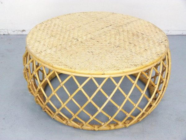 Collection Gallery Round Rattan Ottoman Coffee Table Mediasuploadcom Medium