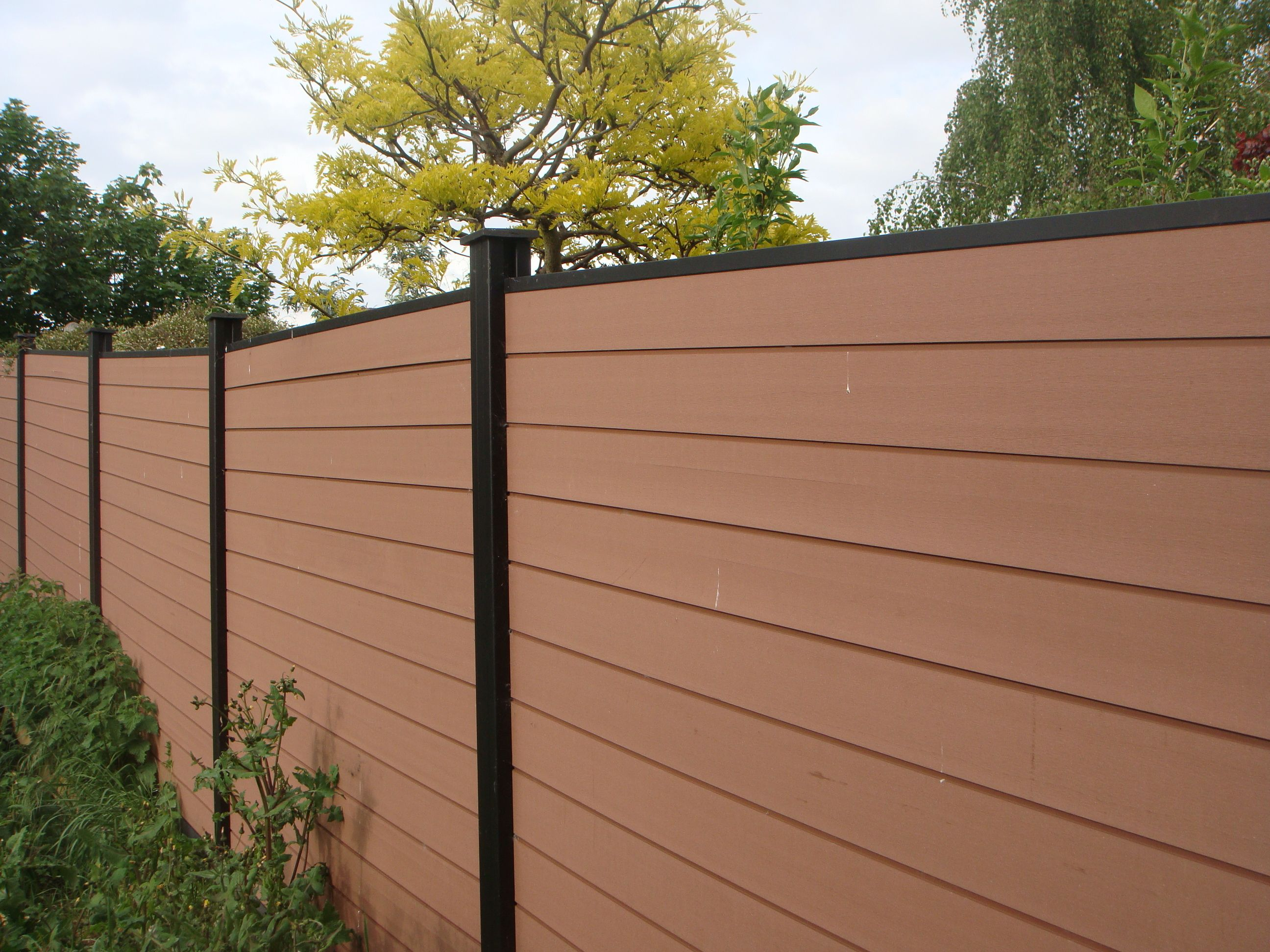 collection gardens fence panels for countryside   wood plastic fence
