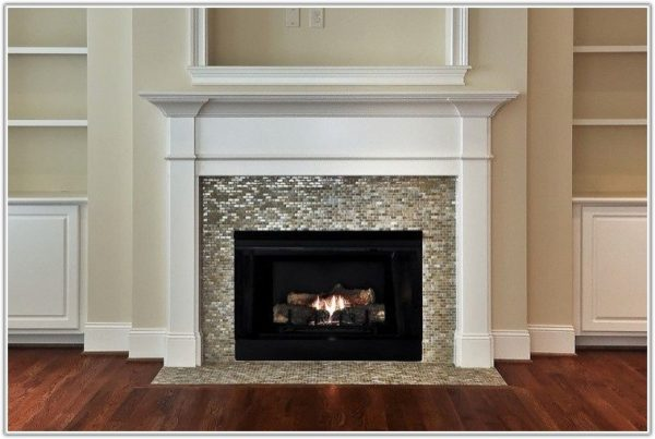 Collection Glass Mosaic Tile For Fireplace Surround Tileshome Medium