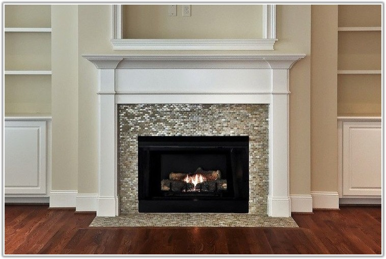 collection glass mosaic tile for fireplace surround tileshome