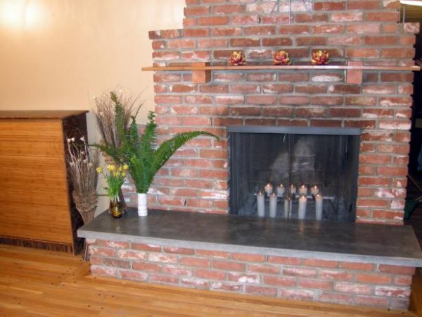 collection how to build a concrete fireplace hearthhgtv medium