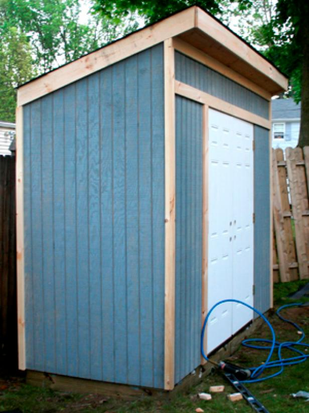 collection how to build a storage shed for garden toolshgtv