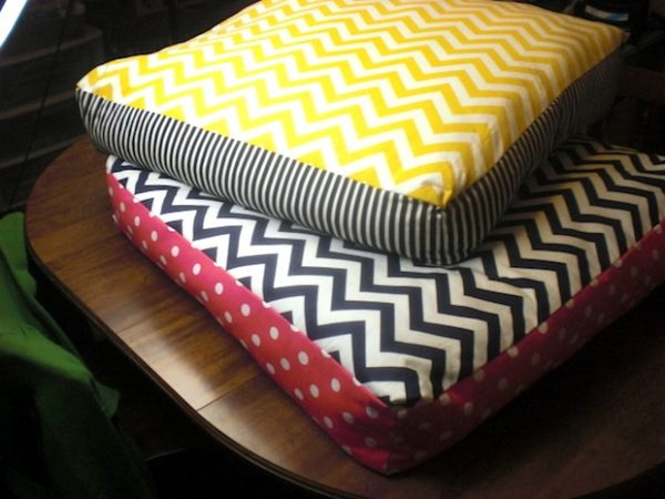 Collection Howto Giant Chevron Floor Pillowsmake Medium