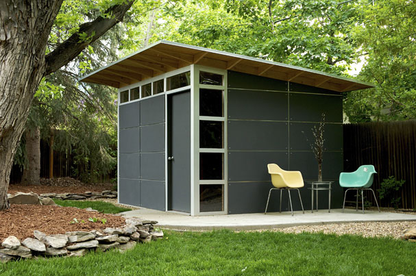 collection jetson green modern green affordable studio shed