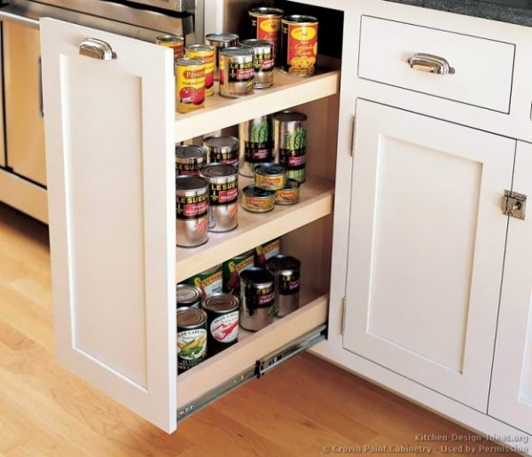 Collection Kitchen Cabinets Spice Rack Pull Outnew Interior Medium