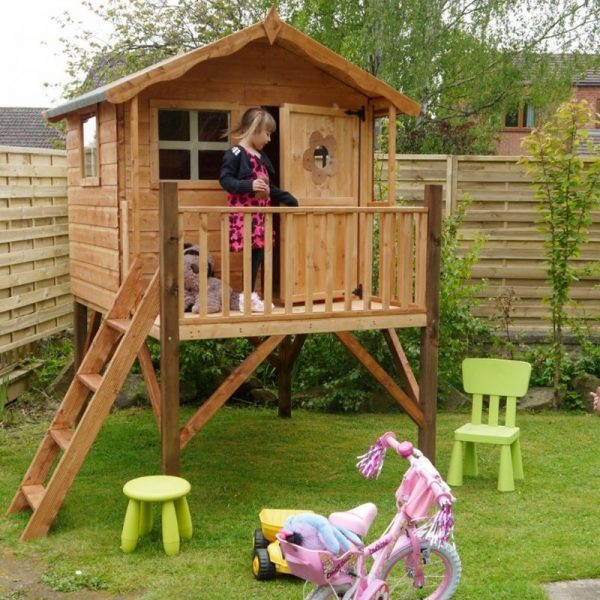 Collection Mercia Tulip Childrens Garden Playhouse   Tower 82 X 6 Medium