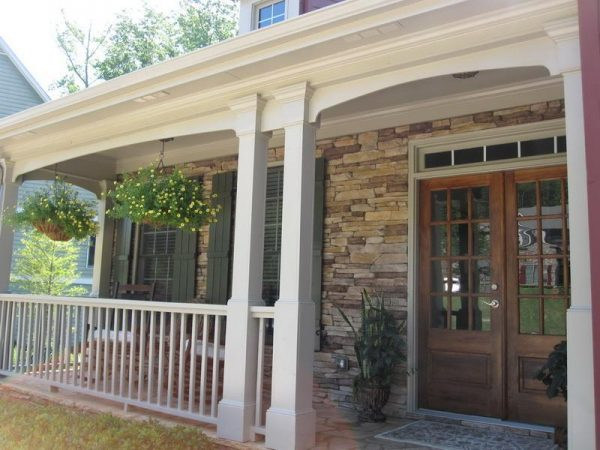 Collection Outdoorhow To Build A Front Porch Ideas How To Build A Medium