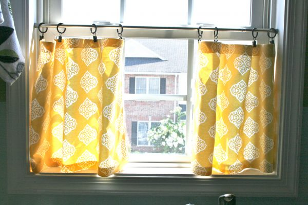 Collection Pinspiration Monday No Sew Cafe Curtains Dream Green Diy Medium