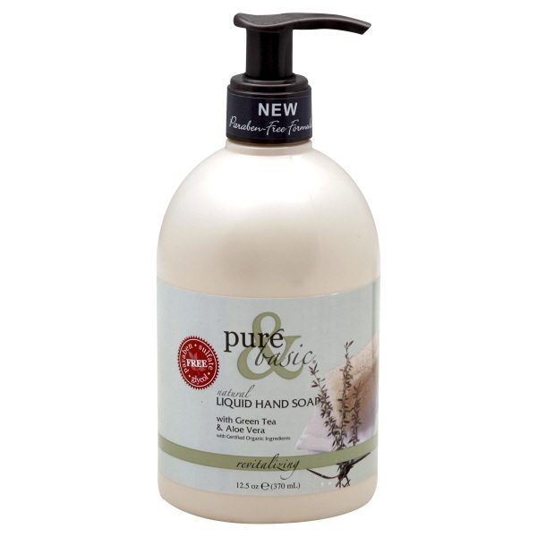 Collection Pure   Basic Products Revitalizing Liquid Hand Soap 125 Oz Medium