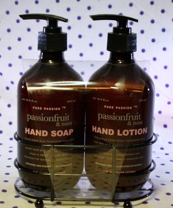 Collection Pure Passion Passionfruit Mint Hand Lotion Soap Gift Set Medium
