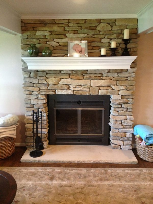 Collection Refacing A Fireplaceroselawnlutheran Medium