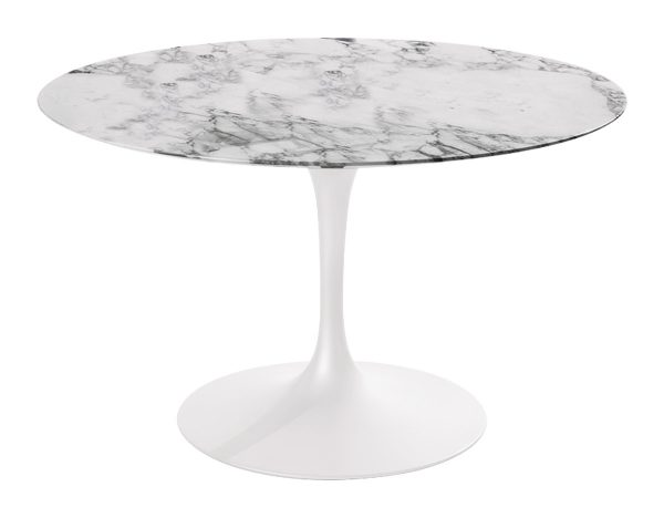Collection Saarinen Dining Table Arabescato Marble Hivemoderncom Medium