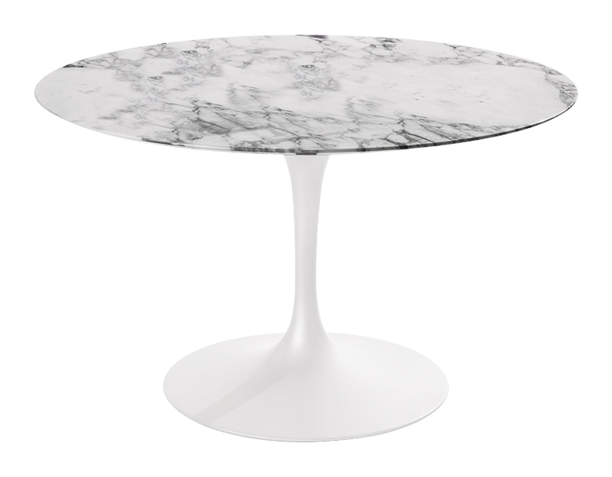 collection saarinen dining table arabescato marble hivemoderncom